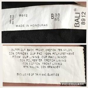 Bali Intimates   Sleepwear - Bali Black All in One Bodysuit Lace 8912 Sz 38B bd9dc1ebb